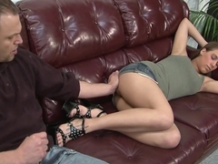 Horny pornstar Natasha Vega in amazing old and young, cumshots porn video