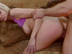 Amanda Tate Cheers For Creampie