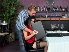 Angell Summers and Erik Everhard have a date