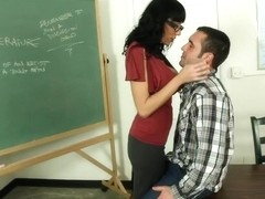 Alia Janine & Daniel Hunter in My First Sex Teacher