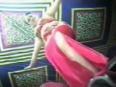 Seductive Arab belly dancer puts on a great show for me