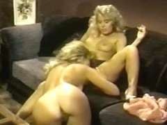 Exotic lesbian classic clip with Judy Blue and Rebecca Steele