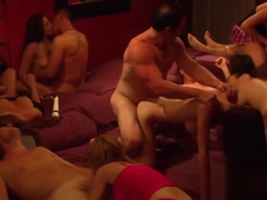 Horny Couples Enjoy With Swinger Fuck Party