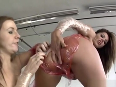 Masturbating porn video featuring Bobbi Starr, Tori Lux and Francesca Le