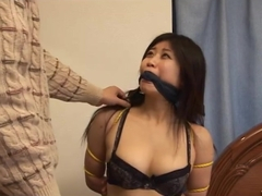 Chinese girl Japanese bondage FULL