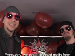 LETSDOEIT - Valentine's Day Bus Fuck With Pick Up Hot German