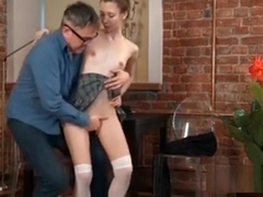 Fervent Schoolgirl Is Seduced And Banged By Her Elder Tutor