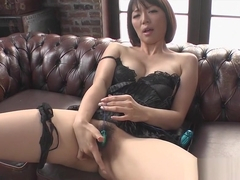 Incredible Japanese slut Izumi Manaka in Best Handjobs, Lingerie JAV clip