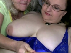 Big Breasted Granny Goes Wild