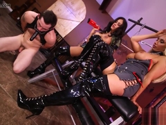 Olivia Fox and Jamie Valentine - Torture Poor Slave