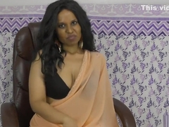 Dominating Indian sexy boss fucking employee pov roleplay in Hindi + Eng