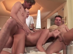 Darcy Tyler Fucks Husband and a Stranger