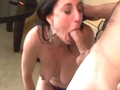 Hot Amateur Brunette Housewife Gets Boned