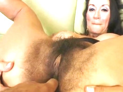 Persia Monir Gets Double-teamed And Swallows Cum