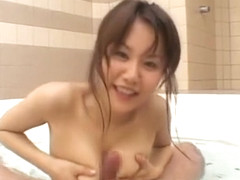 Incredible Japanese slut Megu Ayase in Hottest Facial, Cunnilingus JAV movie