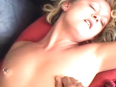 Katie Gold Takes A Huge Cock In Her Mouth
