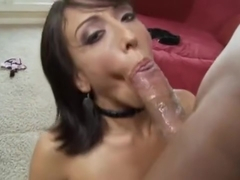 Ricki White - Deepthroat Blowjob