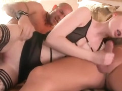 Face sperm shot porn video featuring Gitta Blond