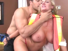 Ramon enjoys fucking blonde hottie Zoey Holiday in her tight and shaved pussy