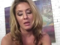 Spicy Sheena Shaw giving an anal job