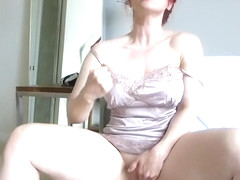 Spicy experienced lady Andrea Rosu like to have a fetish fun