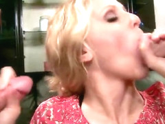 Anal drilling porn video featuring Julia Ann