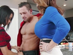 Deauxma, Gulliana Alexis and Johnny Castle