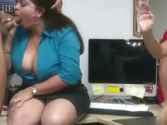Dancingcock Long Cock Office Orgy