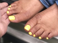 Jazzman Neal Yellow Toes