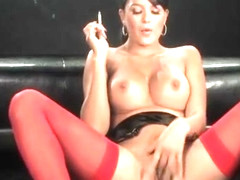 Sasha Cane - Smoking Masturbation