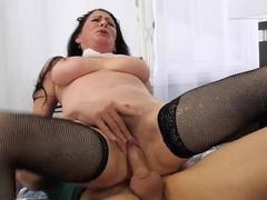 Ravishing woman, Alexandra Silk is having casual sex all day long and expecting a facial cumshot