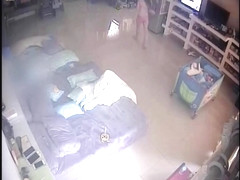 Indonesian Mom on IP cam