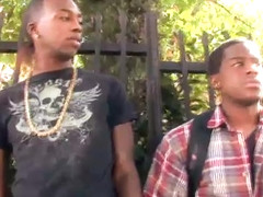 Rodney Piper and Jay JR in Gay Black Video