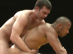 NakedKombat Hayden The Swank Richards vs Troy The Tank Sparks