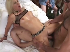 Totally Tabitha 15 Guy Milf Creampie