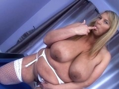 Carol Brown Marital-Device Pounding Slit