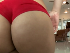 Latina girl Violet Vasquez has a nice big booty