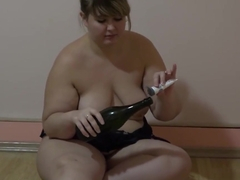 anal with a bottle!
