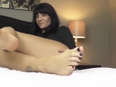 Kinky Jenna Foot Fetish Fuck