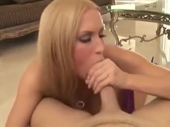 Cassie Young BJ and swallow