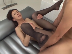 Reiko Sawamura, mature Asian babe gets hardcore pussy play