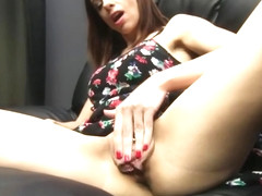 Eva Long Fucks 5 guys that are strangers in POV Train