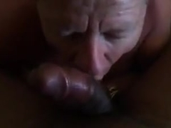 Faggot deepthroats bbc  sucks ass  gets cum facial