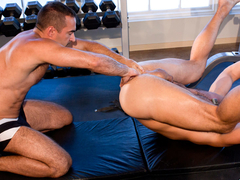 Big Mike & Champ in Save My Hole - ClubInfernoDungeon