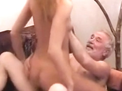 Crazy adult clip Old/Young exclusive craziest show