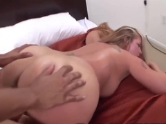 Blonde mommy is cheating on her husband, every once in a while, mostly with black guys