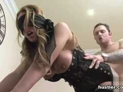 Stacey Saran in Blind folded My Wife  - Hustler
