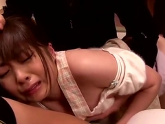Amazing Japanese whore Hirono Imai in Incredible Gangbang, Wife JAV clip