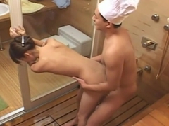 Amazing Japanese whore Rio Kitajima in Exotic Shower, Small Tits JAV scene