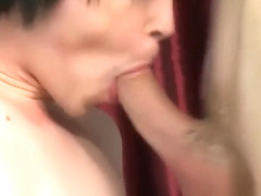 Conner and Tyler hot foot foreplay then bareback fuck